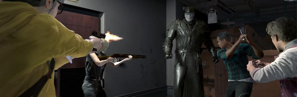 《生化危机:抵抗》steam免费开测 非对称式1vs4求生恐怖游戏