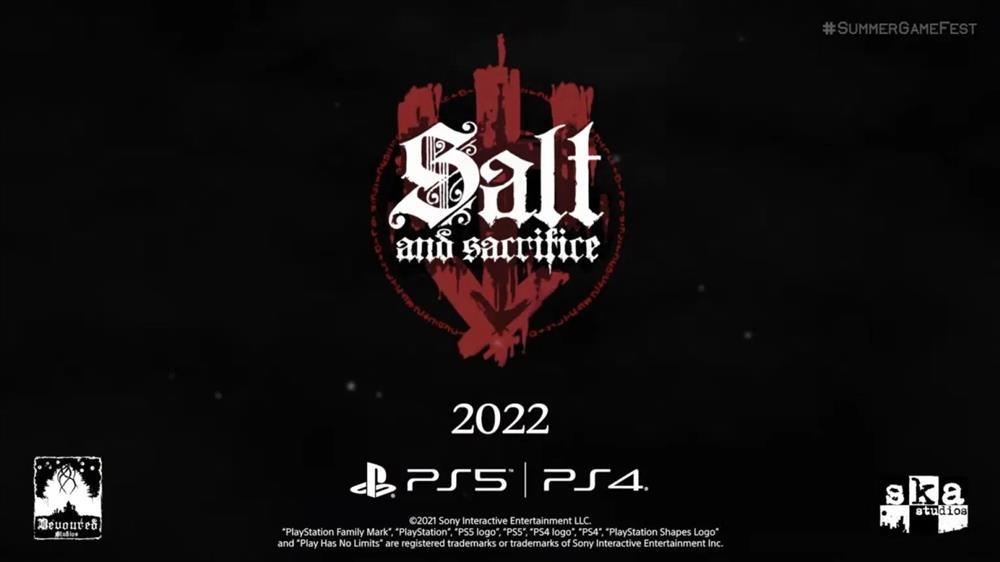 《盐与献祭》新实机演示公布  将登陆PS4、PS5