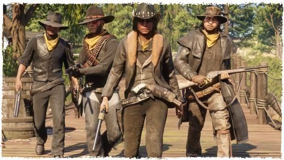 《荒野大镖客OL》商店新品上架 枪械配件打七折