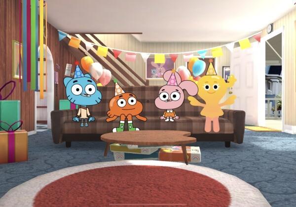《阿甘妙世界》派对手游《Gumball's_Amazing_Party_Game》双平台上架