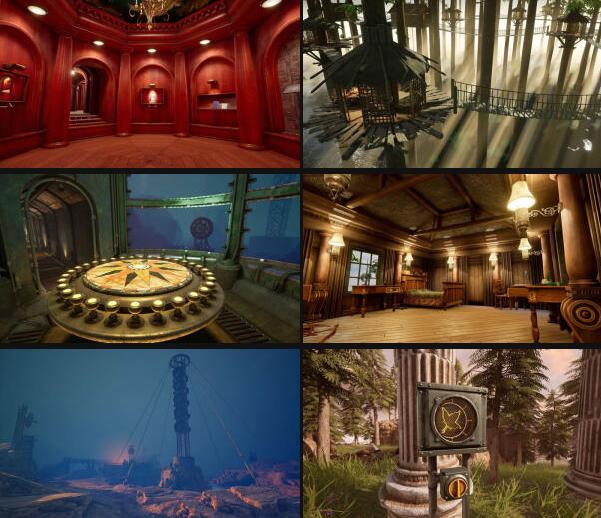 《迷雾之岛 Myst》宣布正式重制将支持VR