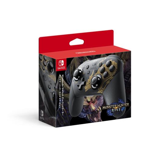 Switch《怪物猎人:崛起》限定款主机公布_外观精美