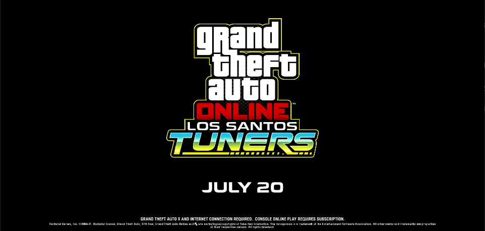 《GTA Online》公布赛车主题更新  将于7月20日正式上线
