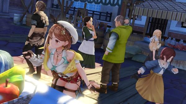 《莱莎的炼金工房2》PC版出现严重鼠标BUG