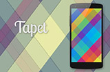 应用日推荐  随机生成独一无二的几何壁纸《Tapet》