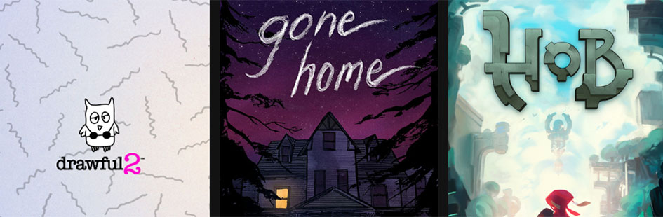 Epic本周喜+3福利开领:《Gone Home》《Hob》《Drawful 2》