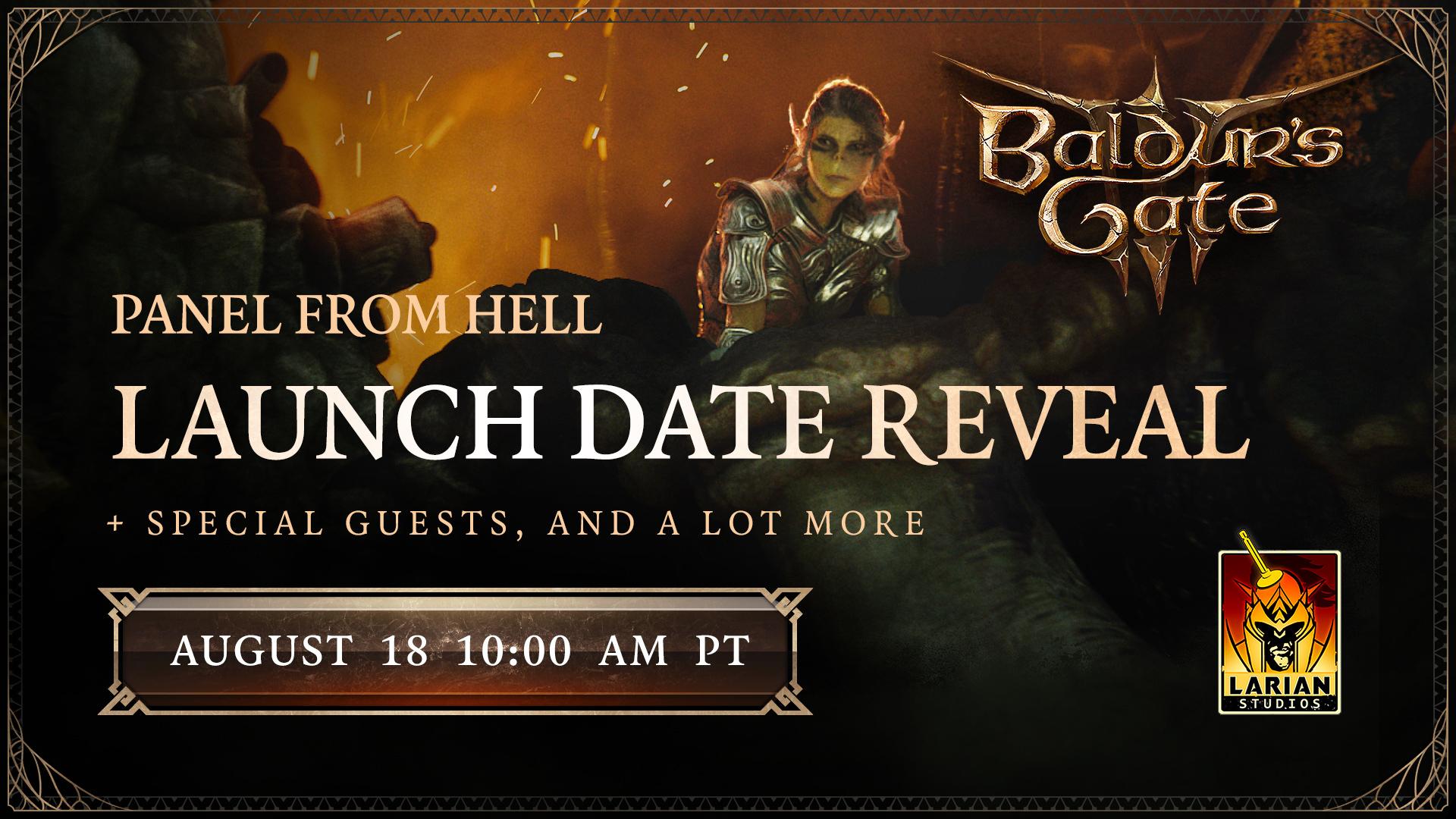 《博德之门3》官方宣布跳票 新消息将在8月19日凌晨公布