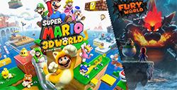 任天堂超级马里奥3D世界预告发布  可和好友多人游戏