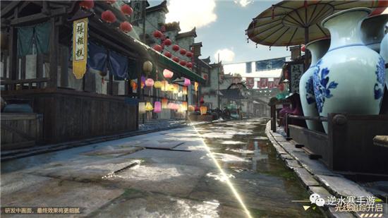 《逆水寒手游》实机真实画面公开 将于8月开启首测