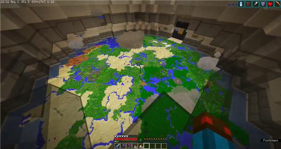 玩家在《我的世界》中实现微天气系统