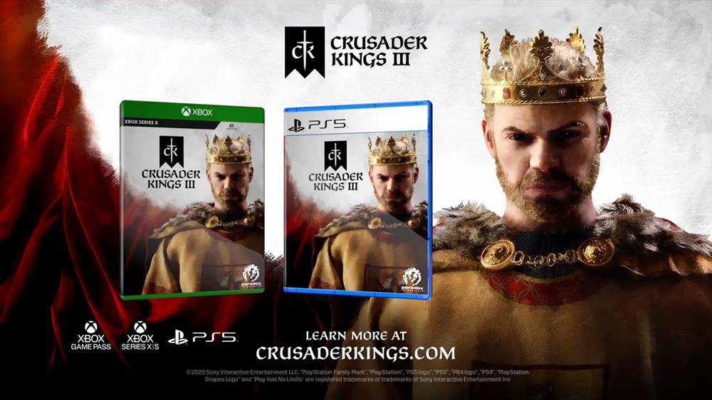 《十字军之王3》主机版发售时还会登陆Xbox Game Pass
