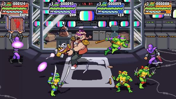 回味童年《忍者神龟:施莱德的复仇》Steam页面公布