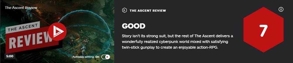 《上行战场》IGN 7分  故事不好但枪战很爽快