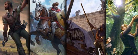 《猎魔人》桌面角色扮演游戏今日开启预售