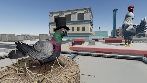 扮演鸽子破坏世界 《毁灭鸽模拟器》Steam上架