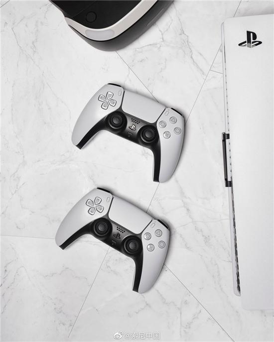 国行PS5要来了?索尼中国官博发布PS5主机+手柄图