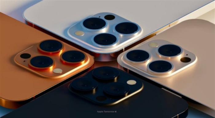 iPhone 13 Pro将有日落金和玫瑰金新配色-1.png