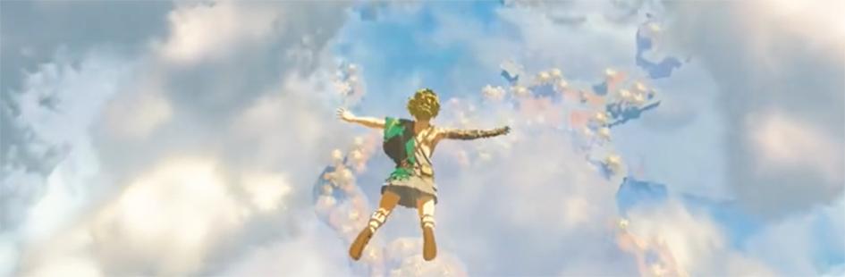 《塞尔达传说:旷野之息 2》新预告片公布 将于2022 年发售