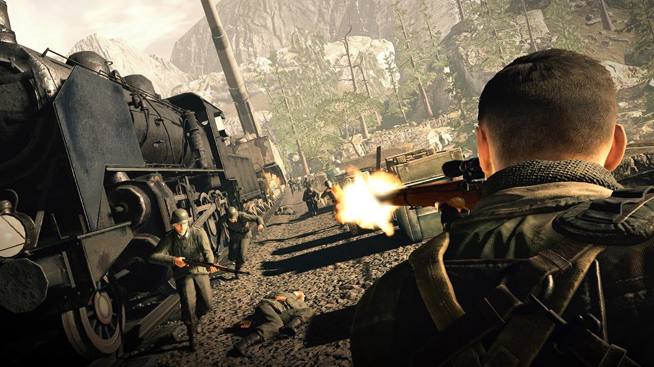 《狙击精英4》追加发售PS4中文版