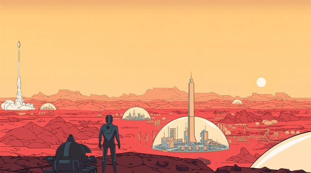 Epic本周喜+1:科幻城市建造《火星求生》