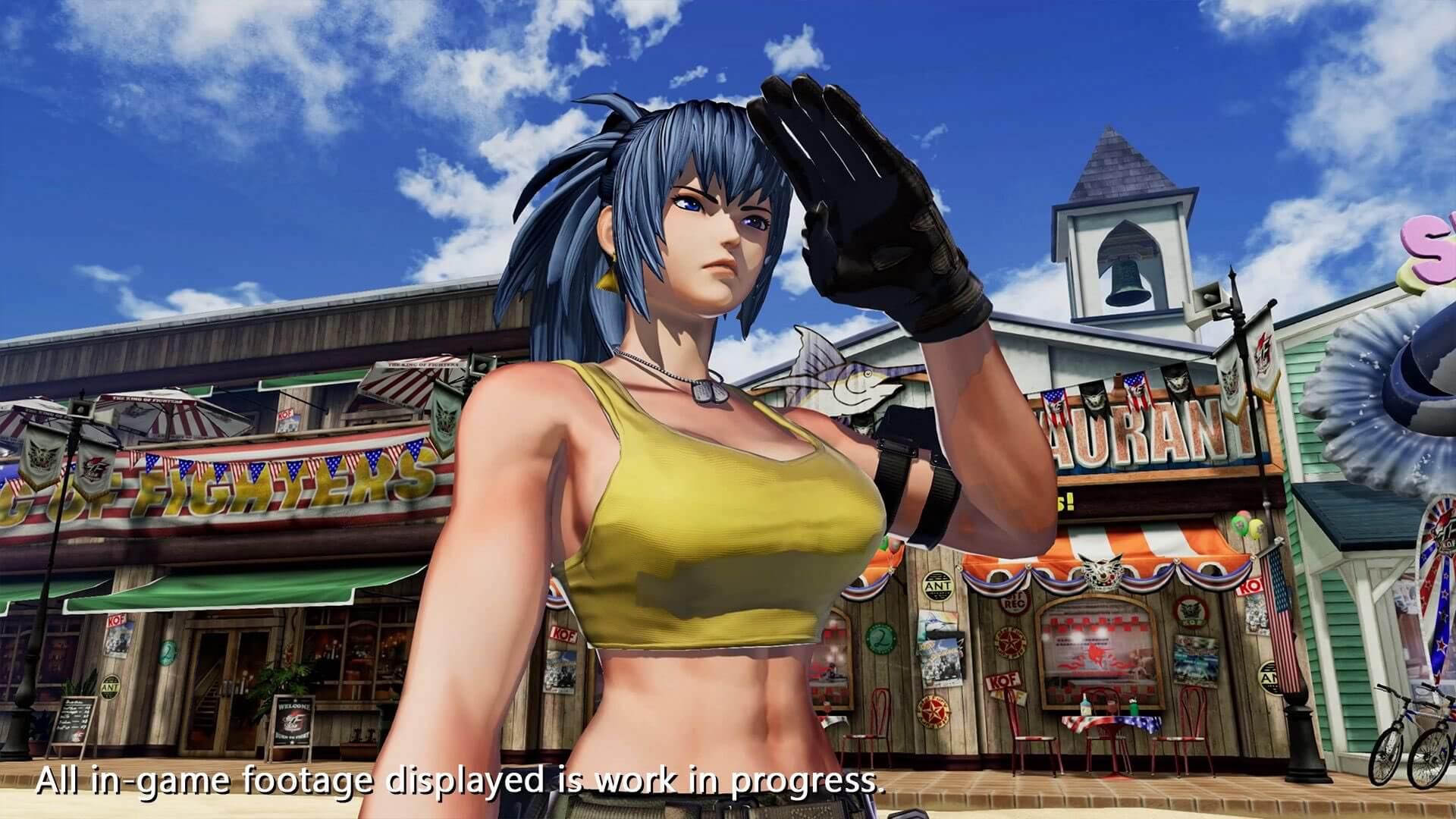 SNK《拳皇15》预告首次公开 2021年发售