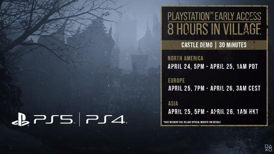 《生化危机8:村庄》PS4与PS5端Demo今日开始试玩预载