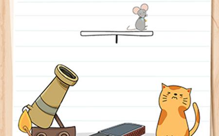 Brain Test谜题急转弯第57关攻略  猫咪还饿